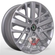 Storm WR-M0001 (Volkswagen) 5,5x14 5x100 ET40 DIA57,1 (silver)