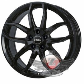 Rial Lucca 8x18 5x114,3 ET39 DIA70,1 (diamond black front polished)